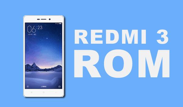 Stable Rom Xiaomi Redmi 3 V7 2 7 LHPCNDB MIUI7 - Frimware
