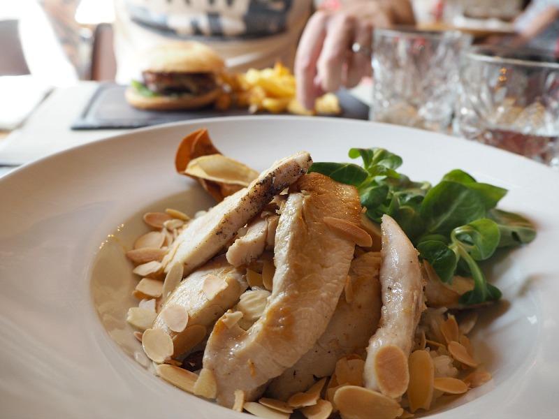 Chicken dish at El Colmado