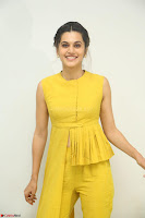 Taapsee Pannu looks mesmerizing in Yellow for her Telugu Movie Anando hma motion poster launch ~  Exclusive 128.JPG