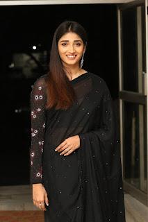 Priya Vadlamani In Black Saree
