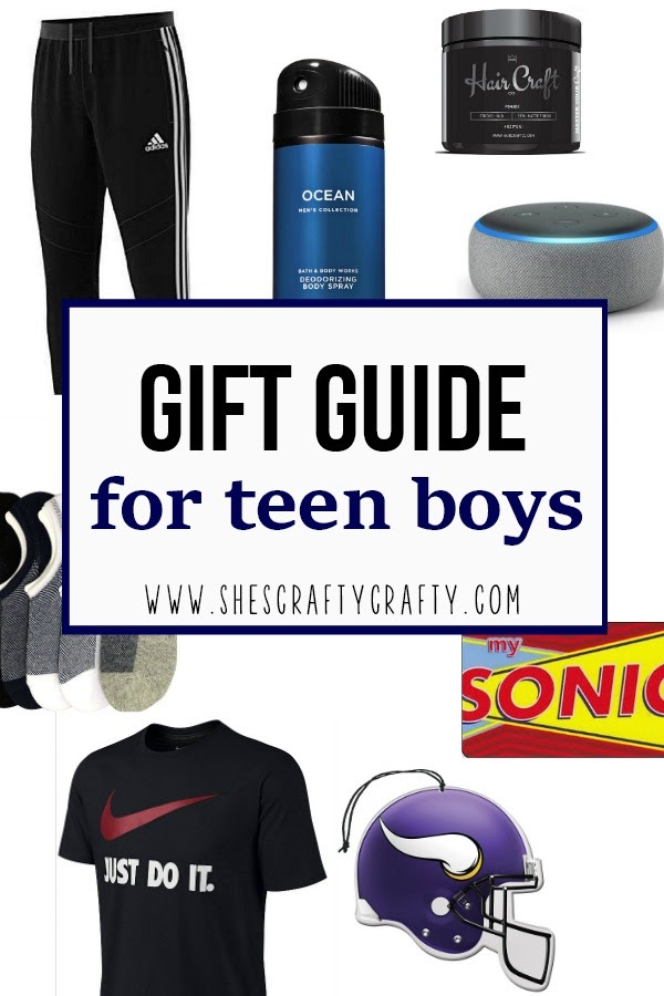 gift guide for teen boys, what to give teen boys