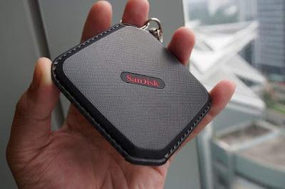 Sandisk Extrem 500 portable SSD
