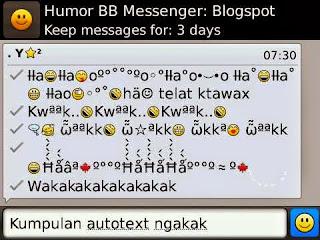Auto Text BB Lengkap Untuk Android yang Keren!