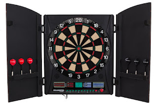 Bullshooter by Arachnid Marauder 5.0 Electronic Dartboard Cabinet Set