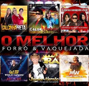 CD O Melhor do Forró e Vaquejada ( 2016 )