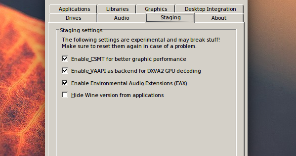Get New Wine Features Faster With `Wine Staging` [PPA] ~ Web Upd8