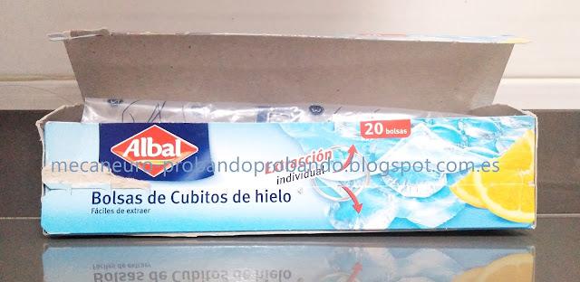 BOLSAS CUBITOS DE HIELO ALBAL