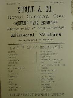 28 типов искусственных минеральных вод Штруве