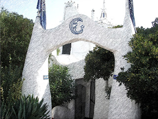 A Lua, na Entrada da Casa Pueblo, em Punta Ballena