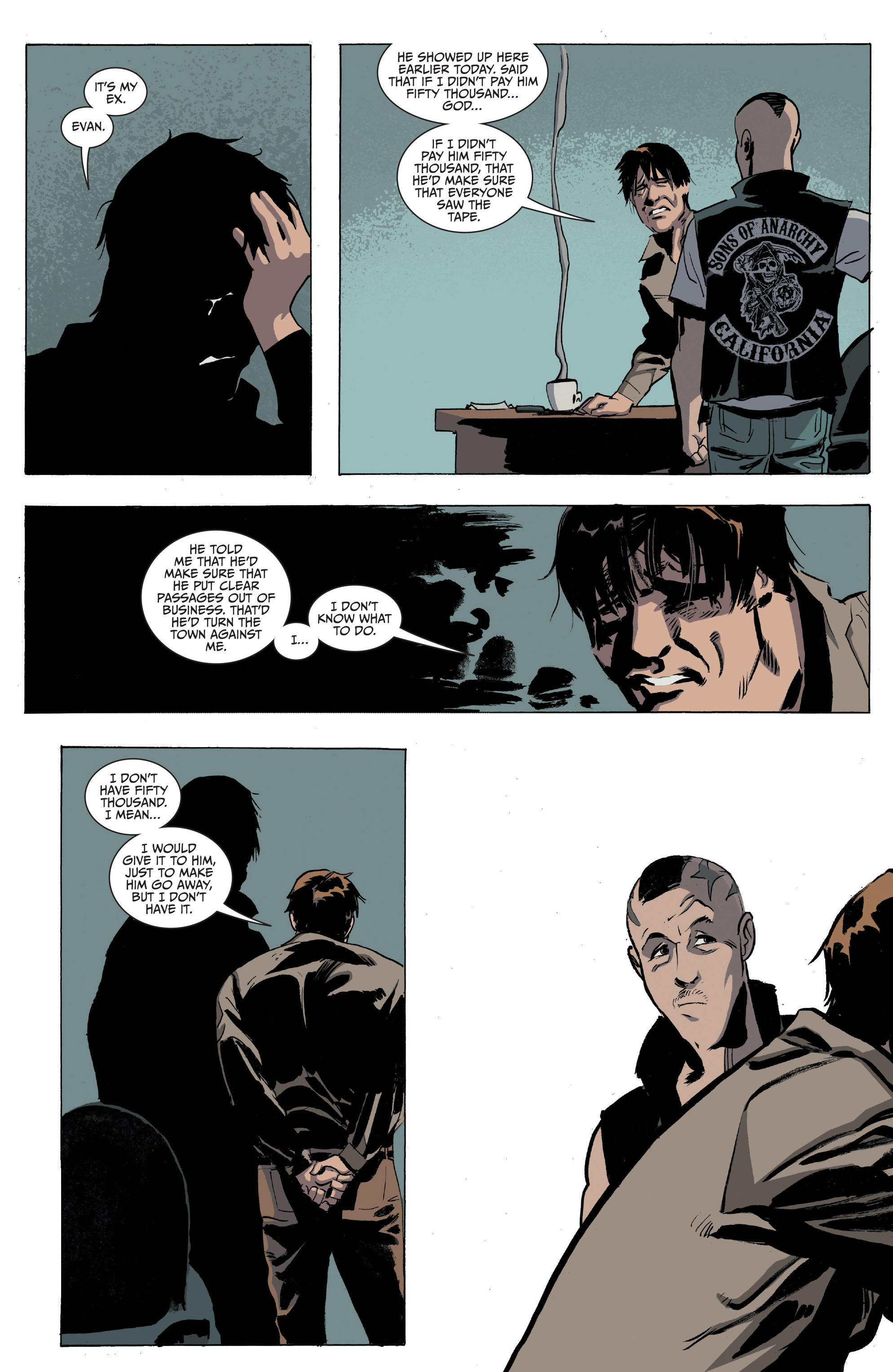 Read online Sons of Anarchy comic -  Issue #16 - 6