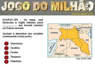 JOGO DO MILHÃO GEOGRÁFICO – III
