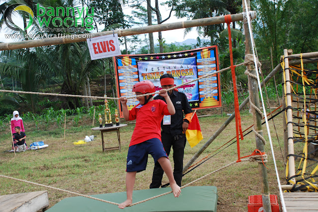 Paket Outbond & Rafting Arung Jeram Sungai Serayu