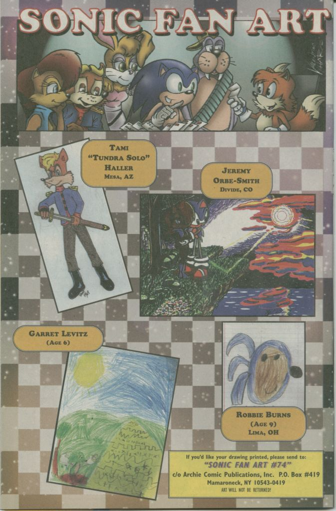 Read online Sonic The Hedgehog comic -  Issue #74 - 32