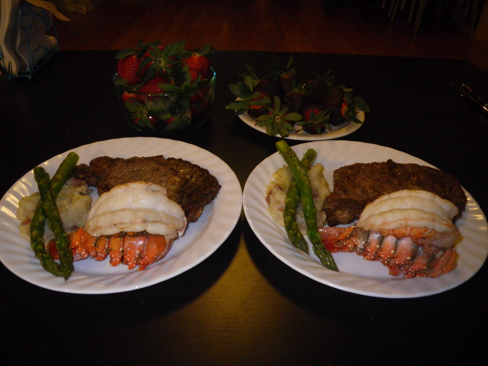 Valentines Day Dinner Surf Turf At Home
