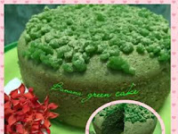 Resep Banana Green Cake Simple