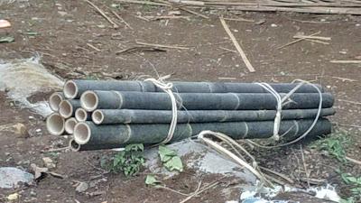 bahan bilik bambu
