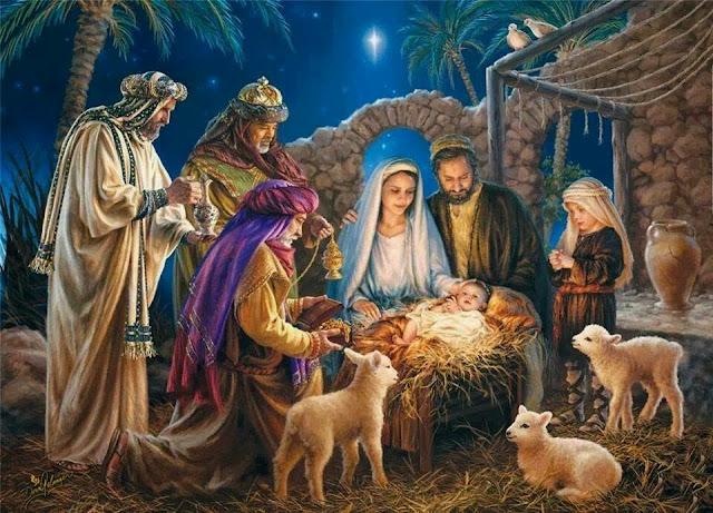 Resultado de imagem para JESUS E REIS MAGOS