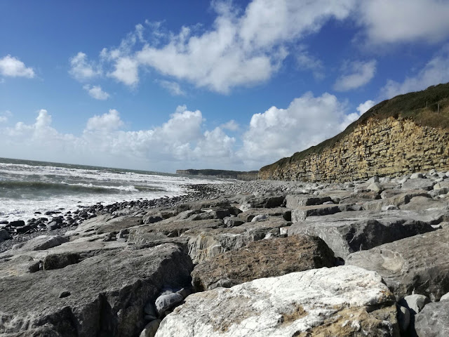 stone beach wales llantwit major