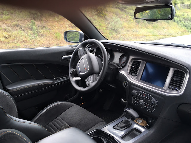 Interior view of 2017 Dodge Charger Daytona