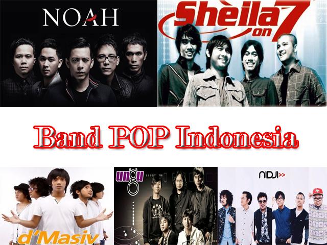 Band POP Indonesia