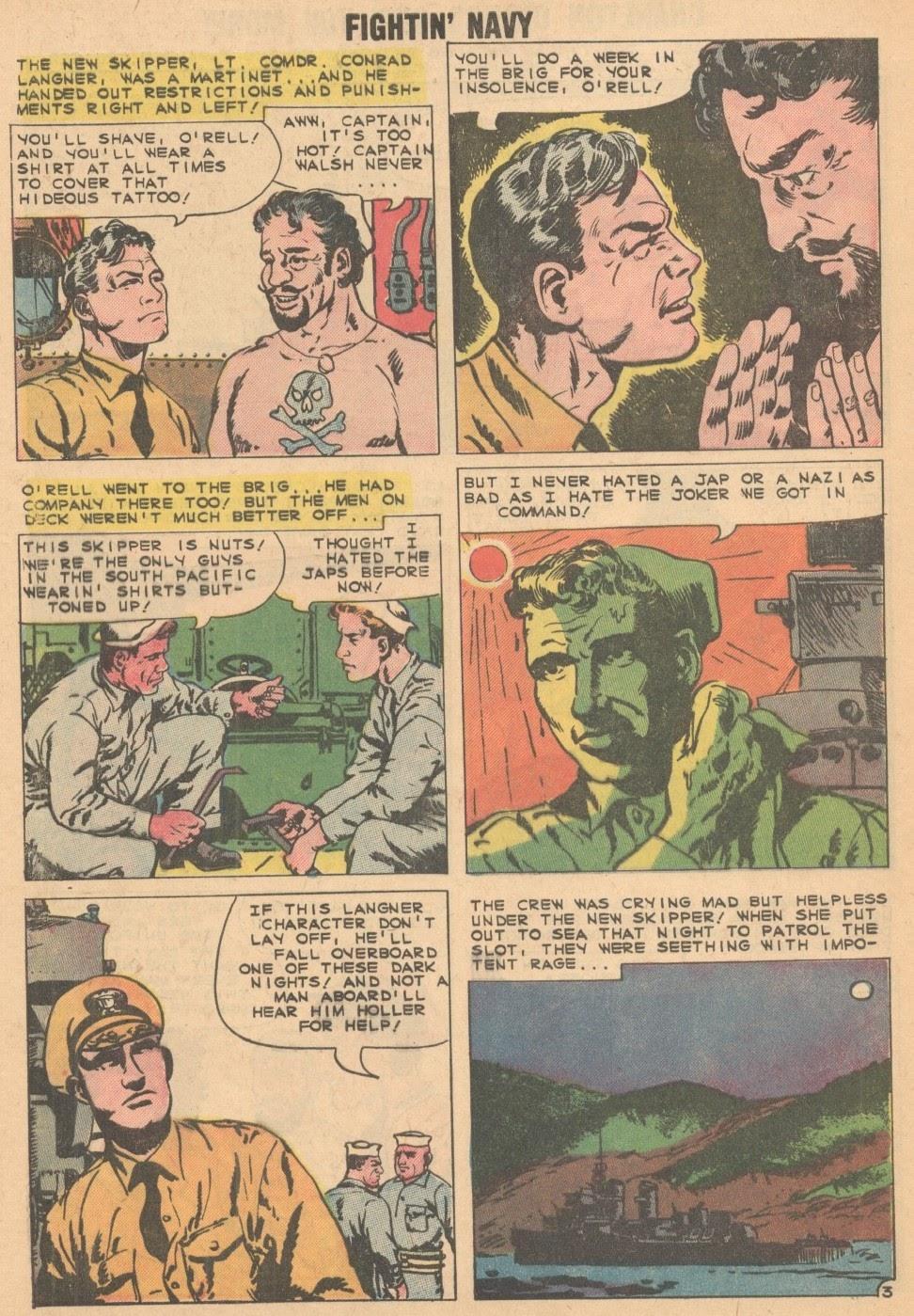 Read online Fightin' Navy comic -  Issue #93 - 28