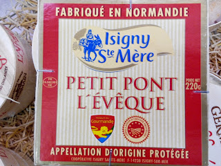 Pont L'Éveque cheese