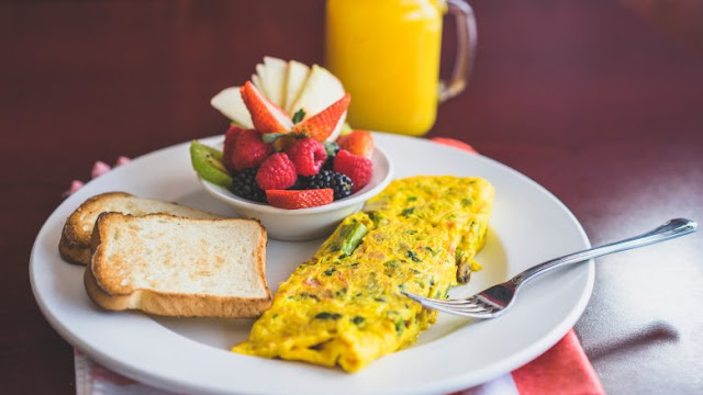 Eggs are excellent in the morning