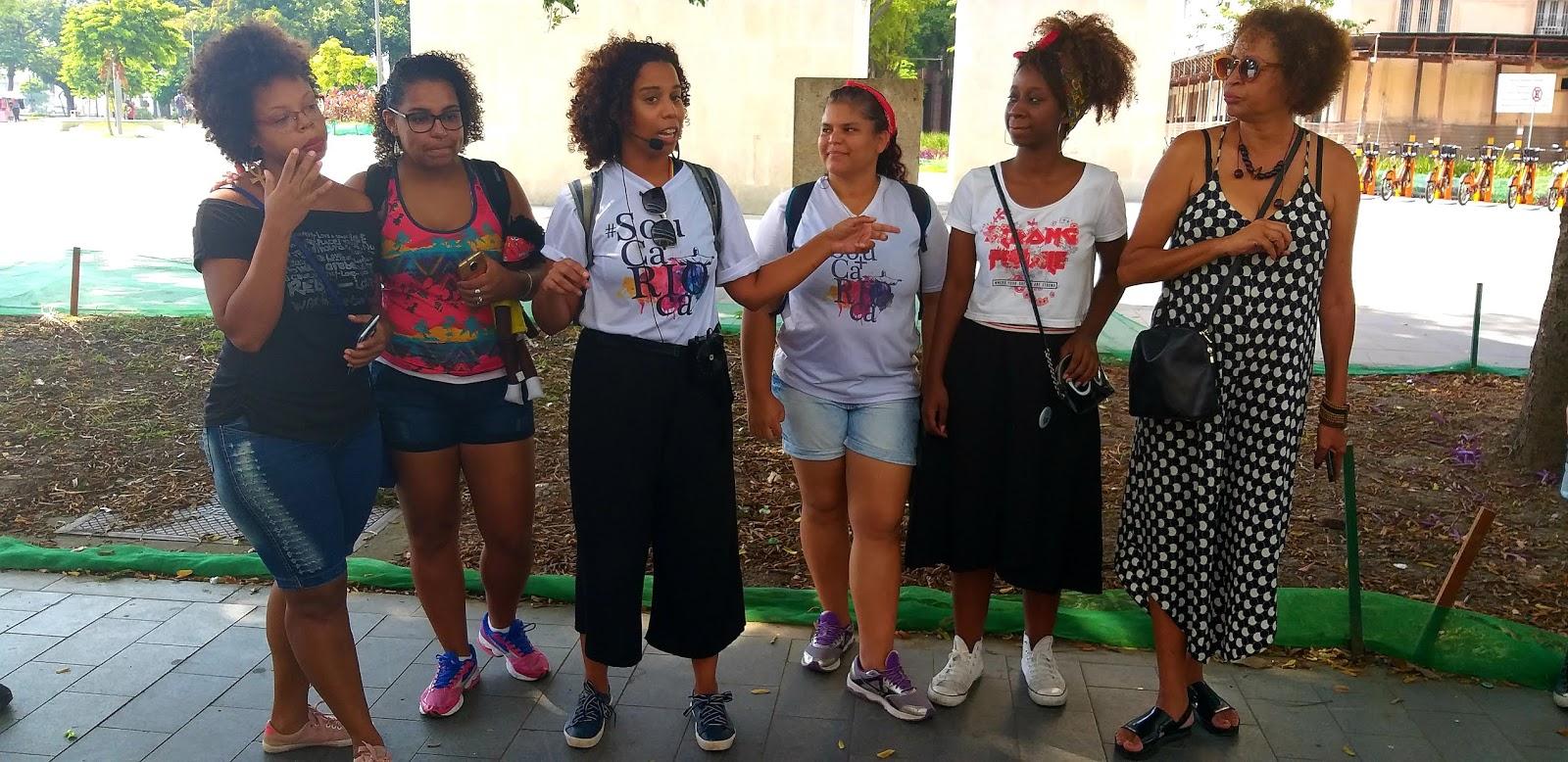 Raquel, Luana, Gaby, Renata, Yara e Dida - Time Sou Mais Carioca