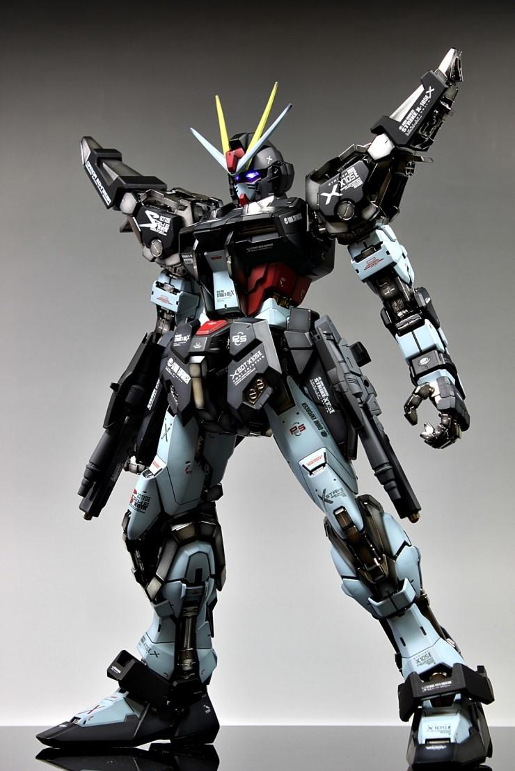 Build A Car From Scratch >> GUNDAM GUY: PG 1/60 GAT-X105E Strike Noir Gundam - Custom ...