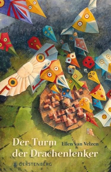 """Das Bücherboot: Kinderbücher vom Drachen steigen lassen (+ Verlosung). Dabei stelle ich auf Küstenkidsunterwegs auch das nahezu magische Jugendbuch von Ellen van Velzen vor: """"Der Turm der Drachenlenker""""."""