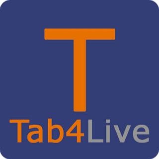 شعار تطبيق تابع لايف Tab4live