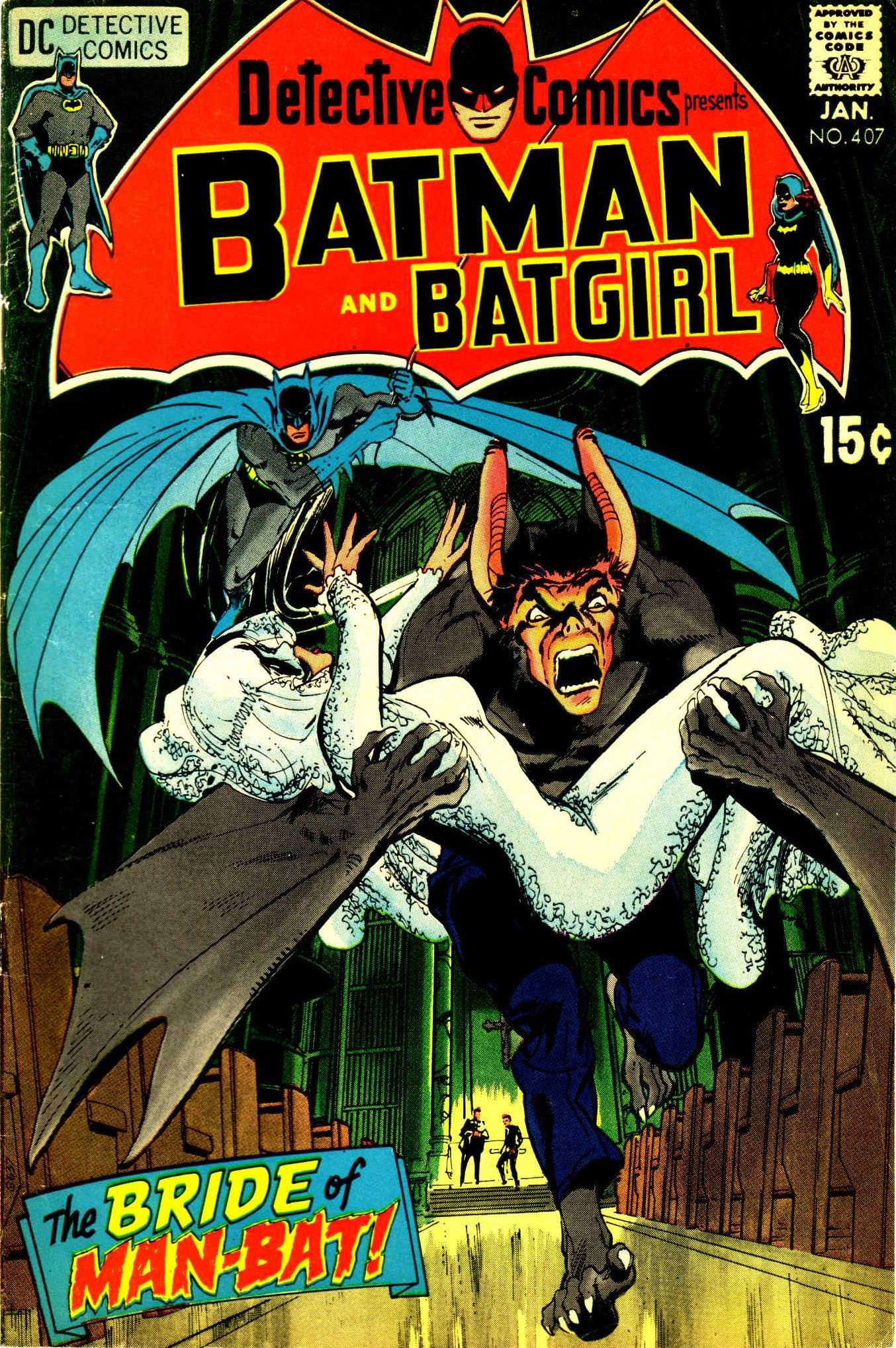 Detective Comics (1937) 407 Page 1