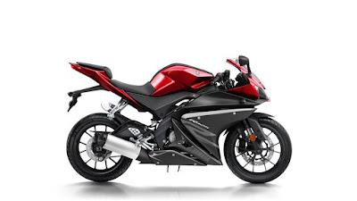 Yamaha YZF R125 Red image