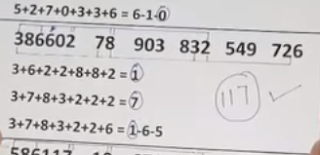 Thai Lottery Today 3up Direct Set For 01-10-2018