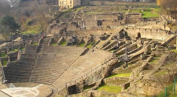 Teatro Romano em Lyon