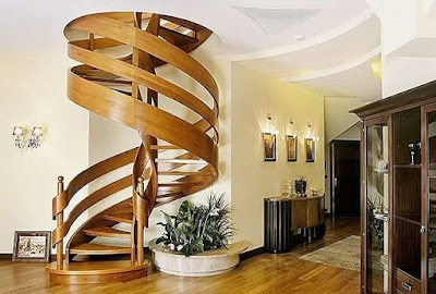 Model Unik Desain Tangga Rumah Modern
