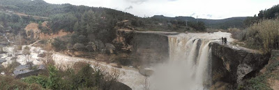 El Salt de la Portellada, río Tastavins 4