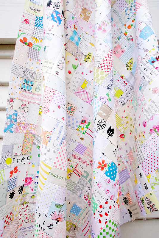 Bright Hopes Quilt and Tutorial | © Red Pepper Quilts 2017