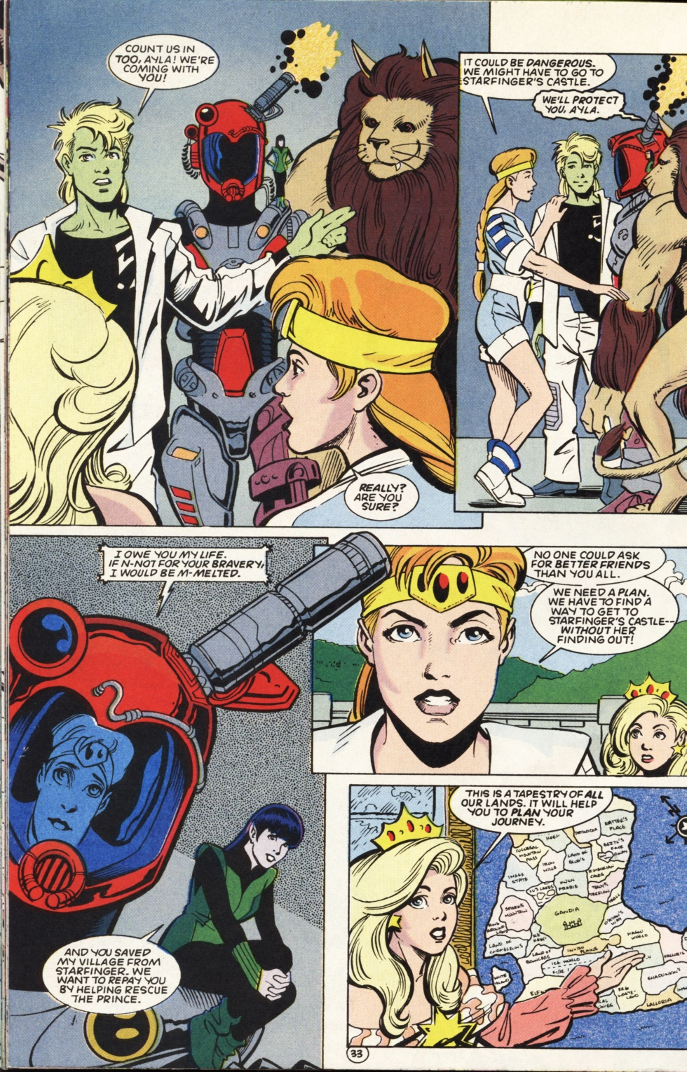 Legion of Super-Heroes (1989) _Annual_6 Page 33