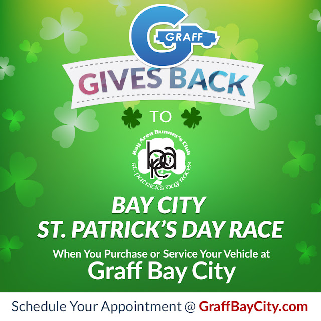 Graff Gives Back to Bay City's St. Patrick Day Race In March