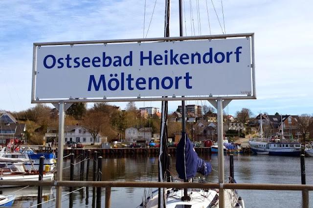 Unser Osterspaziergang in Heikendorf Möltenort Spaziergang Kieler Förde Strand Meer