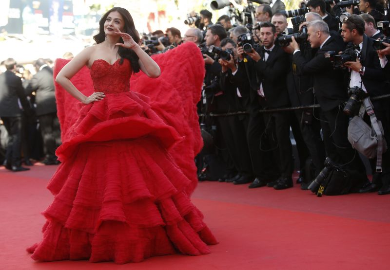 Aishwarya Rai Bachchan at the Cannes Film Festival 2017