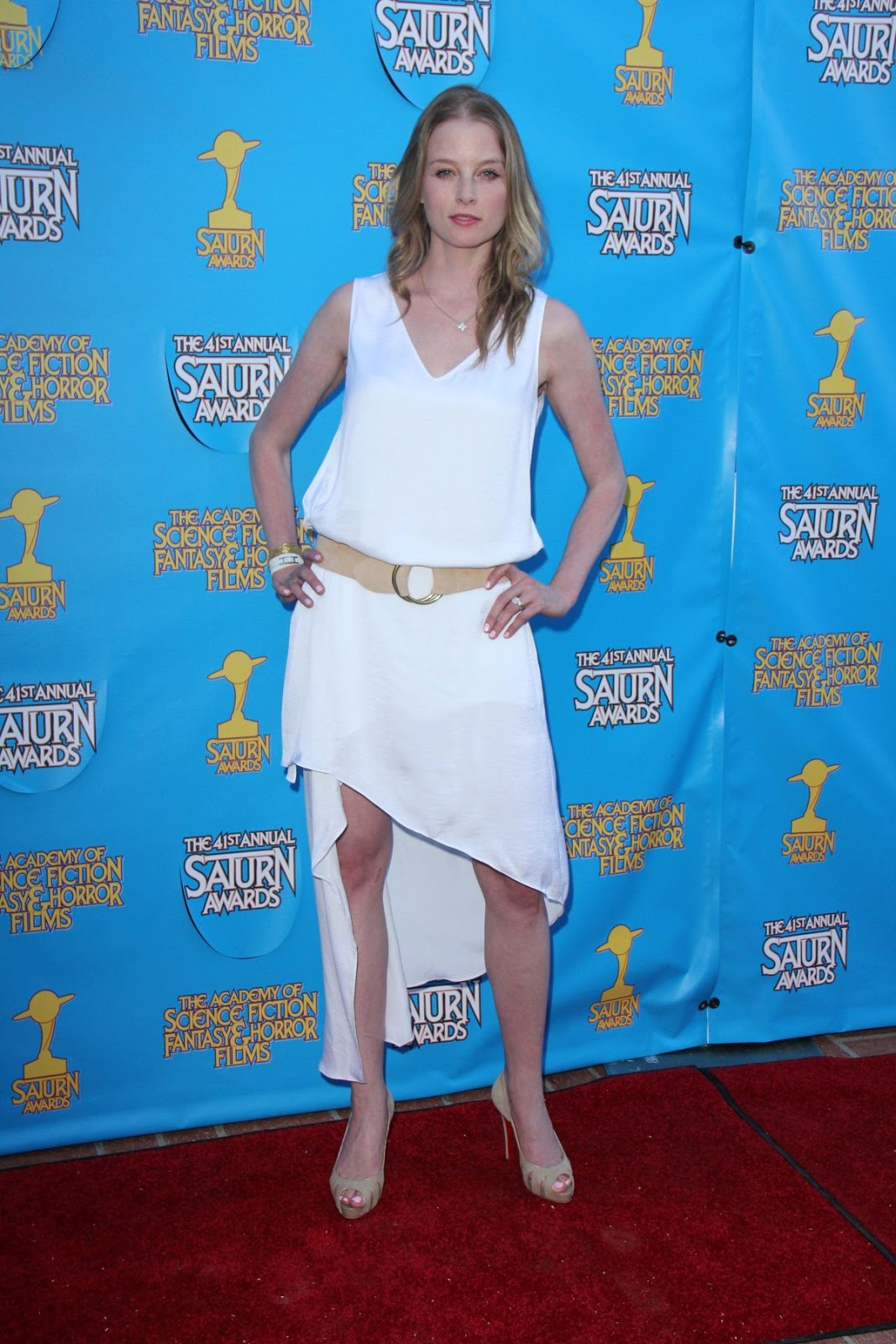 Pandemic actress Rachel Nichols at the The 41st Annual Saturn Awards in Burbank