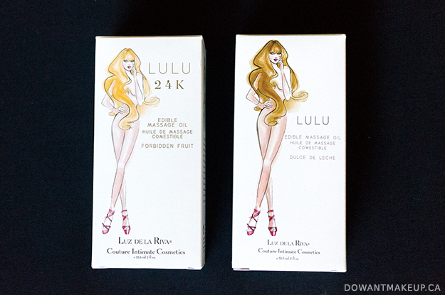 Luz de la Riva Lulu edible massage oil review