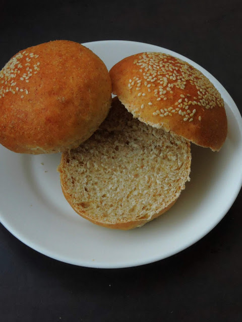 Vegan Spelt flour Hamburger buns