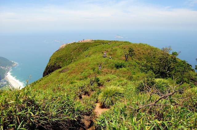 Brasil Rio de janeiro trilha pedra da gávea fotos indio vista trilha