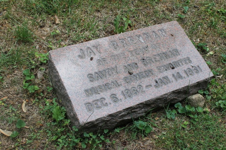 A Vintage Nerd Woodlawn Cemetery Mary Pickford Burial Vintage Blog Where Old Hollywood Stars are Buried Jay Brennan Grave