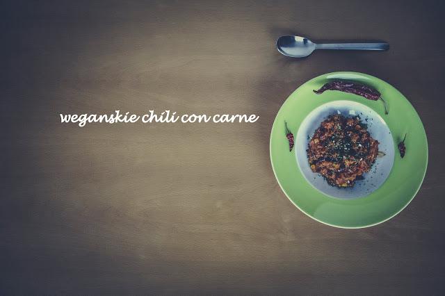 wegańskie chili con carne- pikantne, aromatyczne, uzależniające.