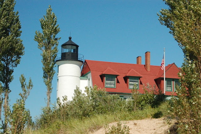 The siberian american lake michigan circle tour one of for What state has the most lighthouses