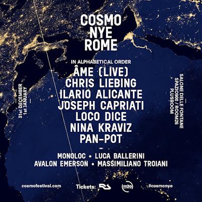 Ame, Monoloc, Avalon Emerson & Luca Ballerini Complete Cosmo NYE Lineup